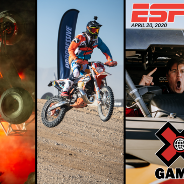 TUNE IN MONDAY TO THE WORLD OF X GAMES